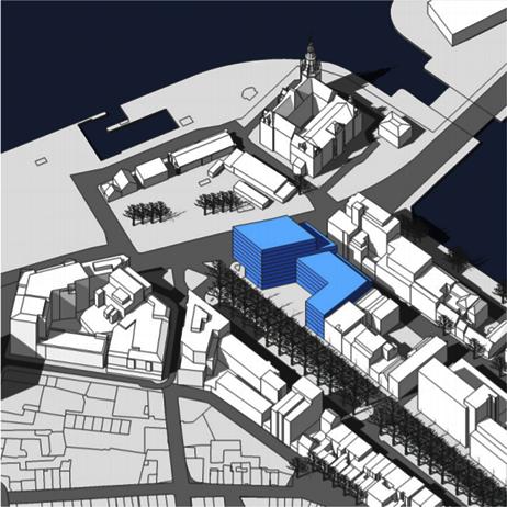 Vernieuwing Brouwersvliet scenario 2