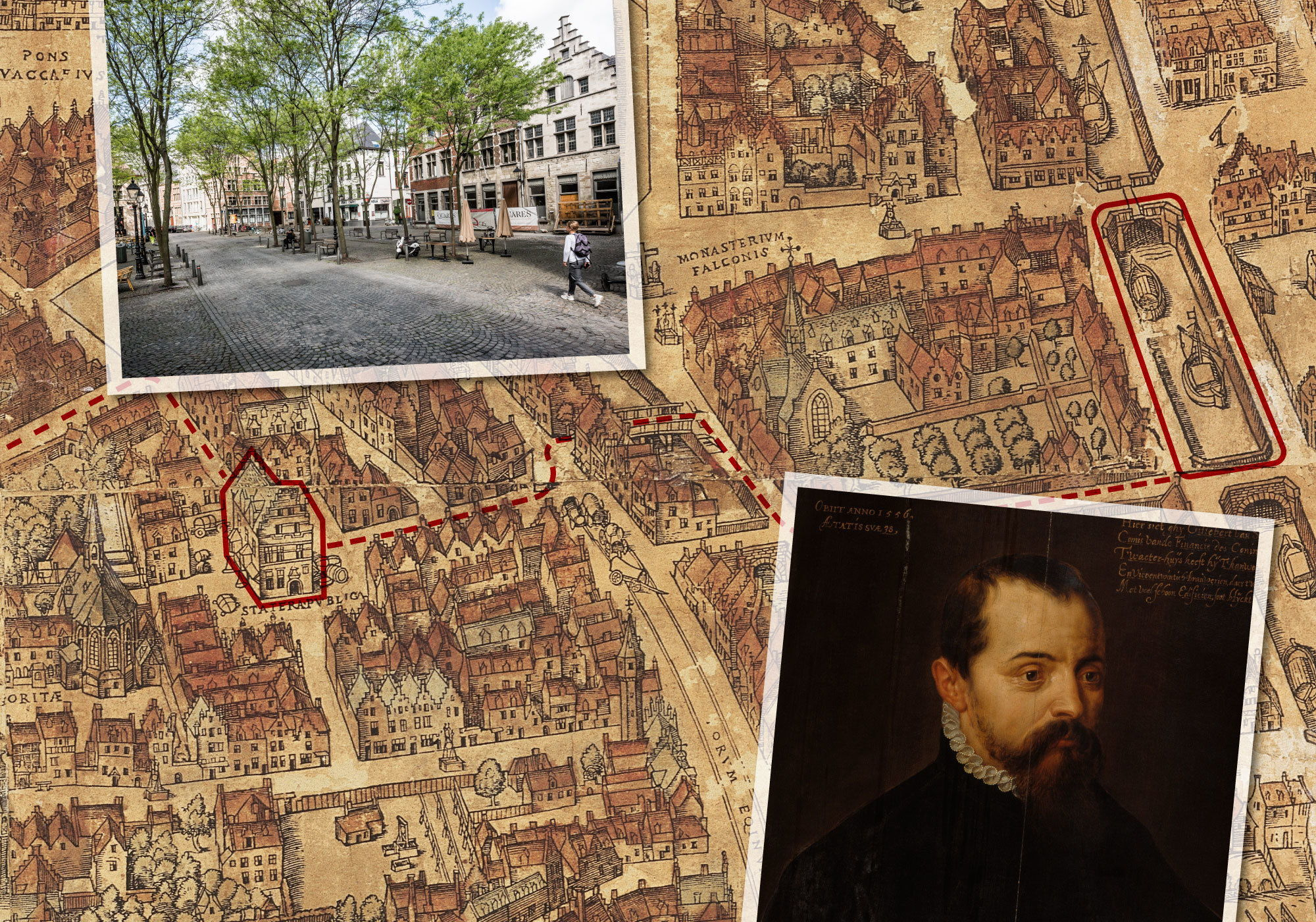 Volg de route van Gilbert van Schoonbeke door het Antwerpen van de gouden eeuw.